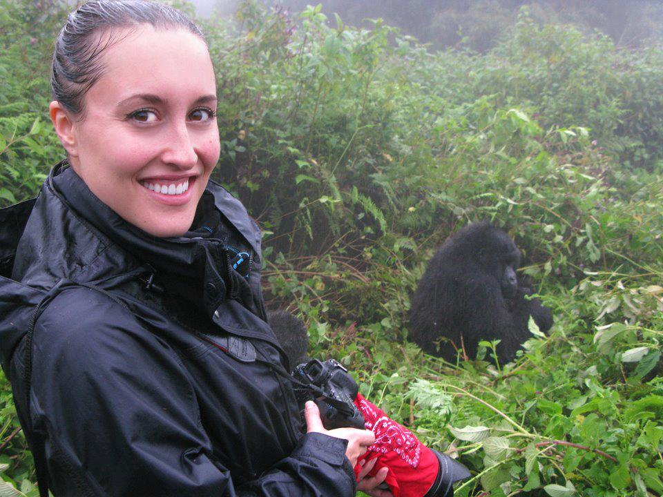 Jessica Burbridge is the communications officer for Gorilla Doctors