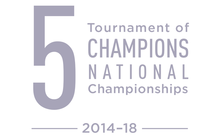 5 Tournament of Champions national championships