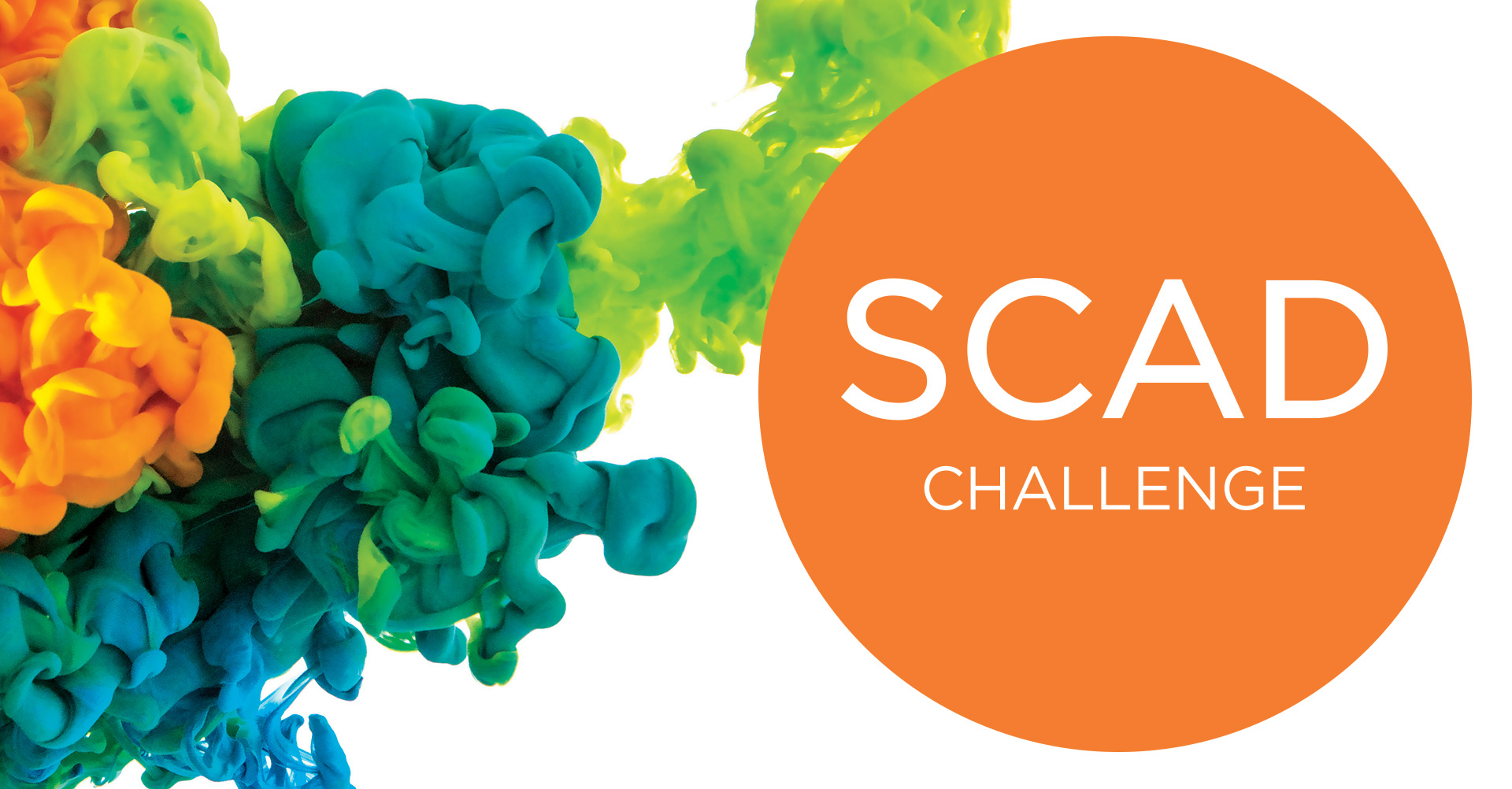 Poster design challenge - Take The Scad Challenge