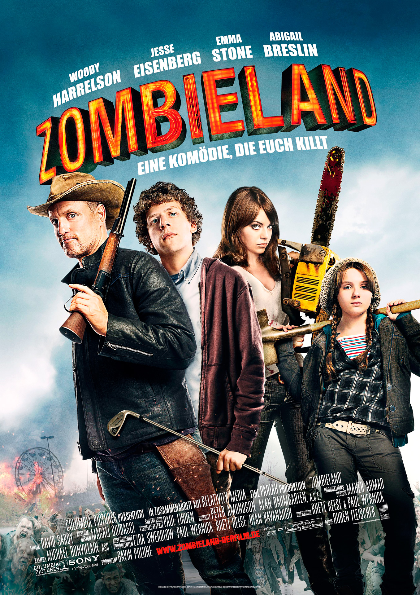 Take a road trip for your life in 'Zombieland' | SCAD.edu