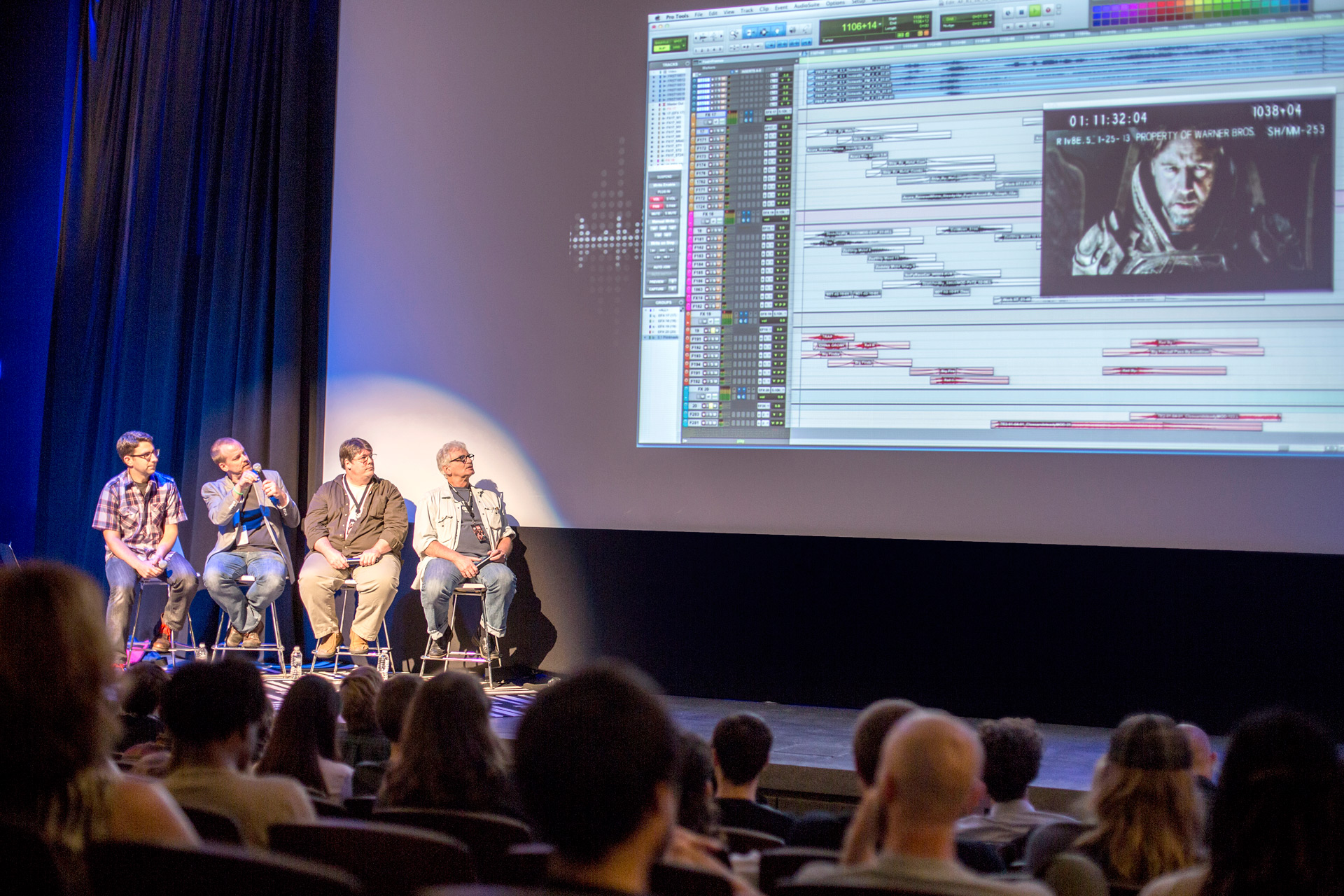 Photo of Savannah Film Festival 2014 Sound Design panel