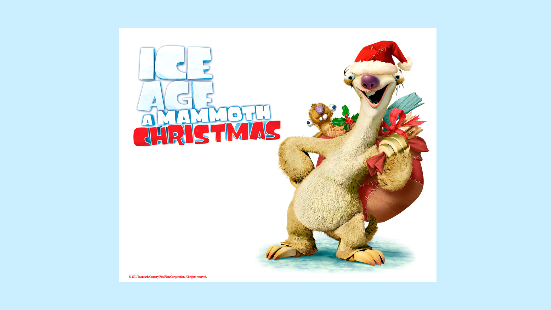 enjoy a holiday adventure in ice age a mammoth christmas scadedu - Ice Age Mammoth Christmas