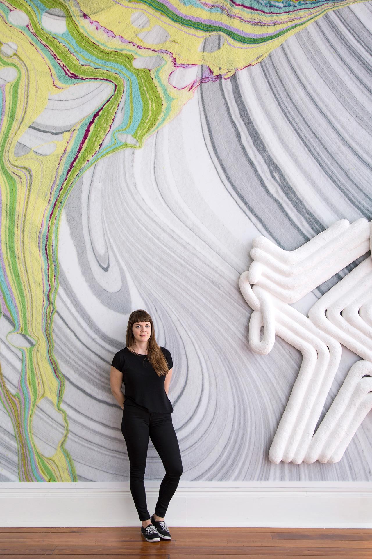 University Calendar Design : Lauren clay gallery talk 'squash and stretch scad