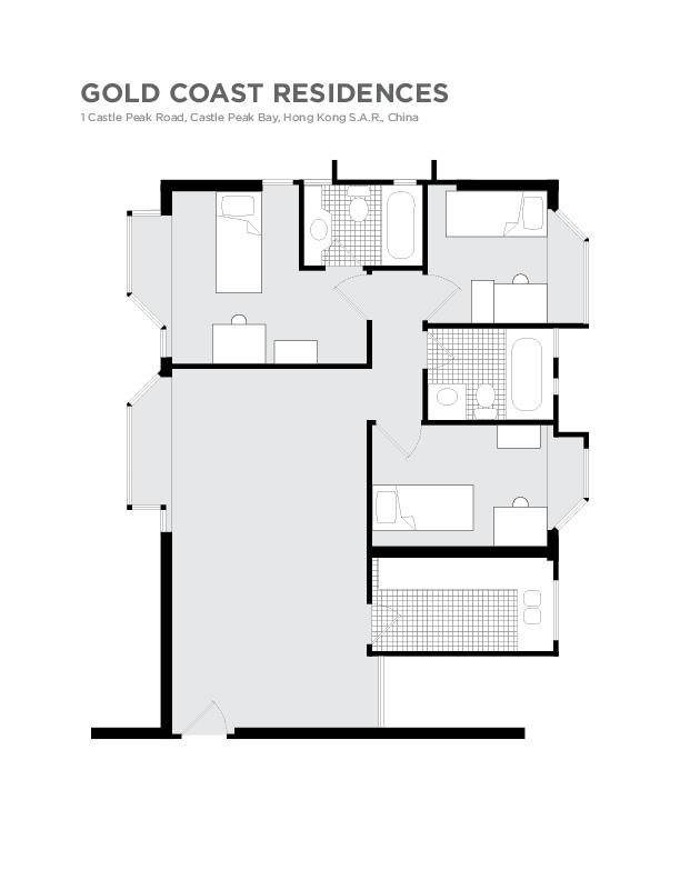 Gold Coast Residences light-box