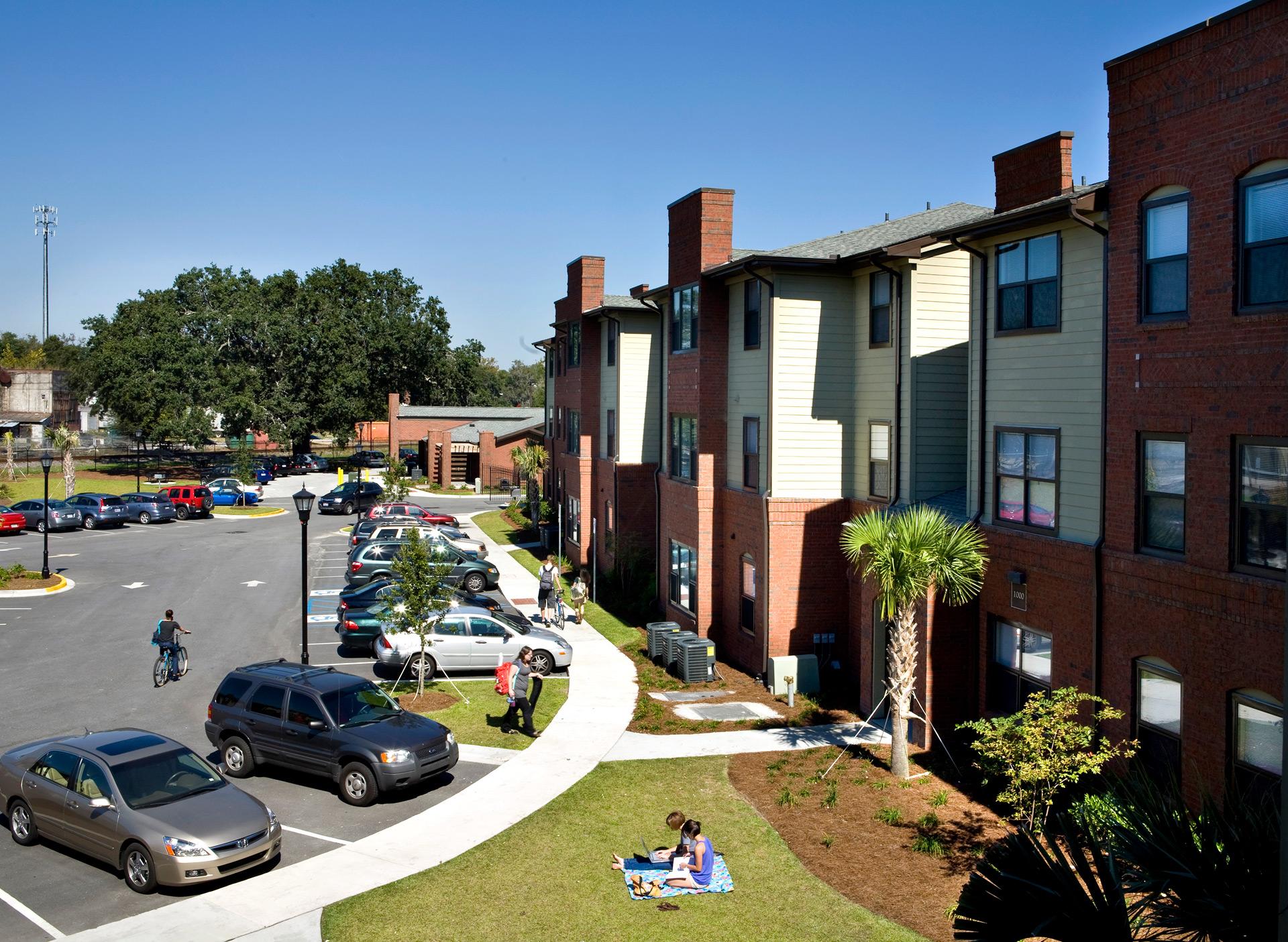 Barnard village for Savannah apartments near scad