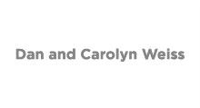 Dan and Carolyn Weiss