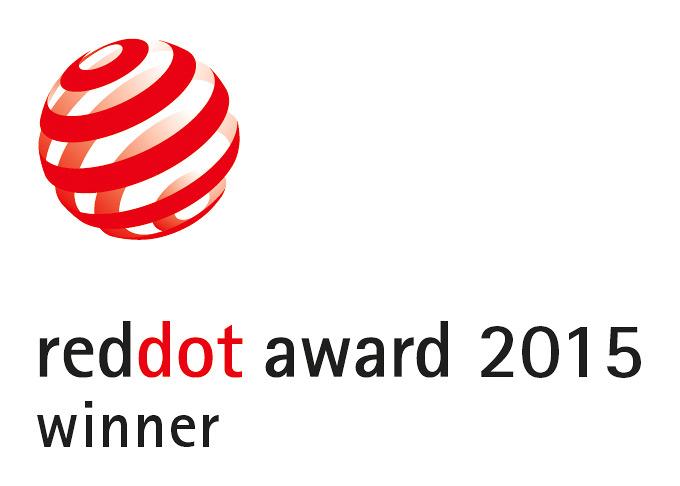 Red Dot Award 2015 Winner Logo