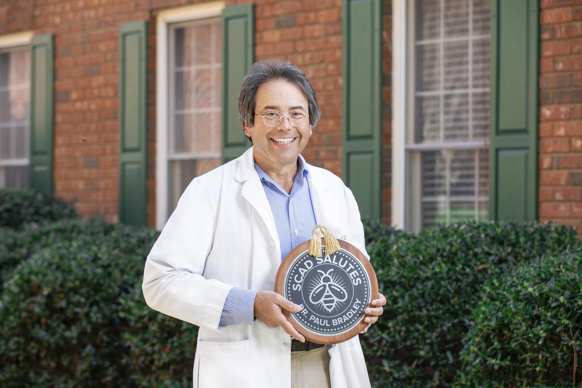 Dr. Paul Bradley, SCAD Salutes