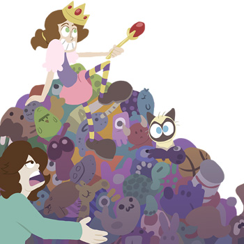 """""""The Pick-up Princess,"""" an animated children's e-book"""