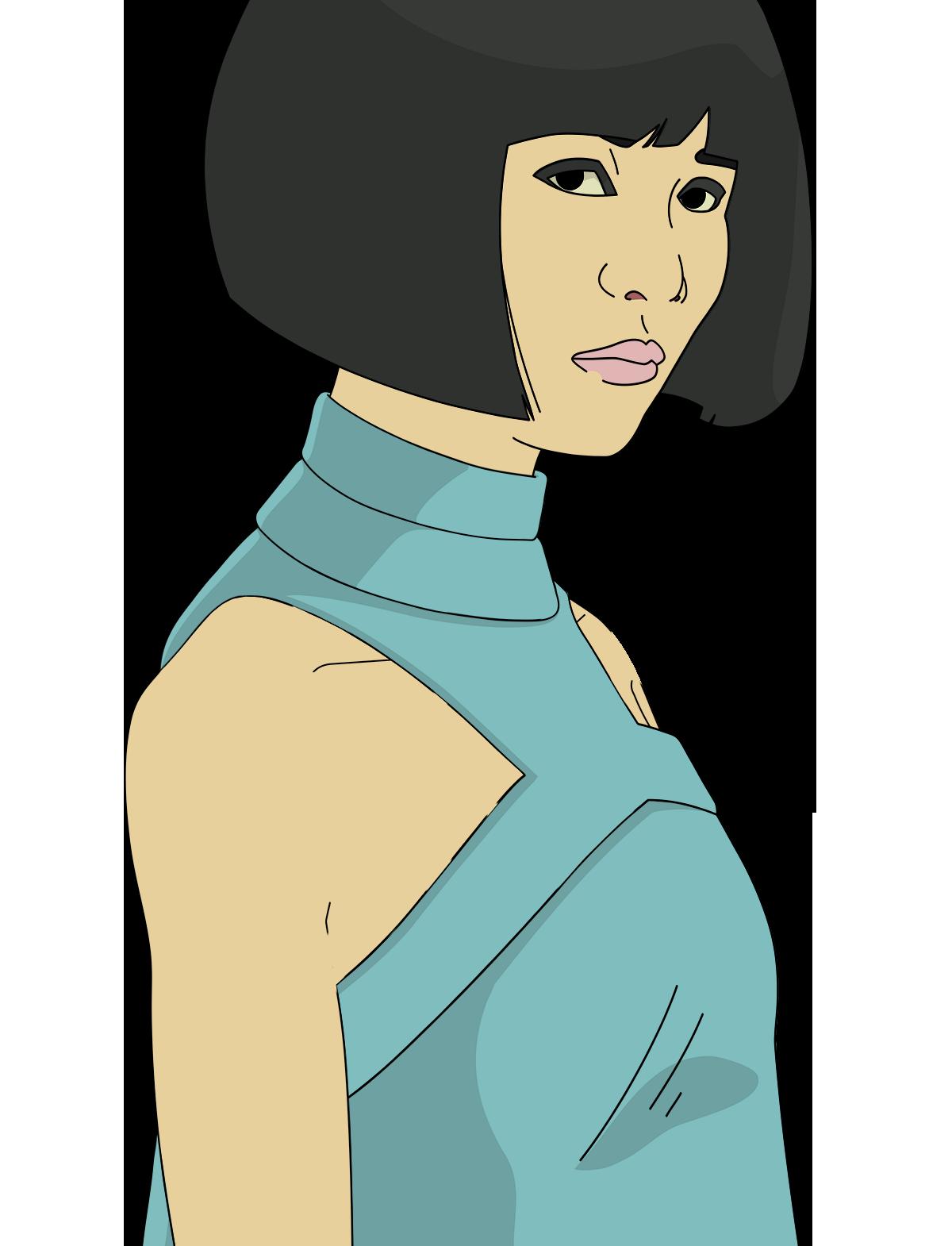 Animated Fashion Model