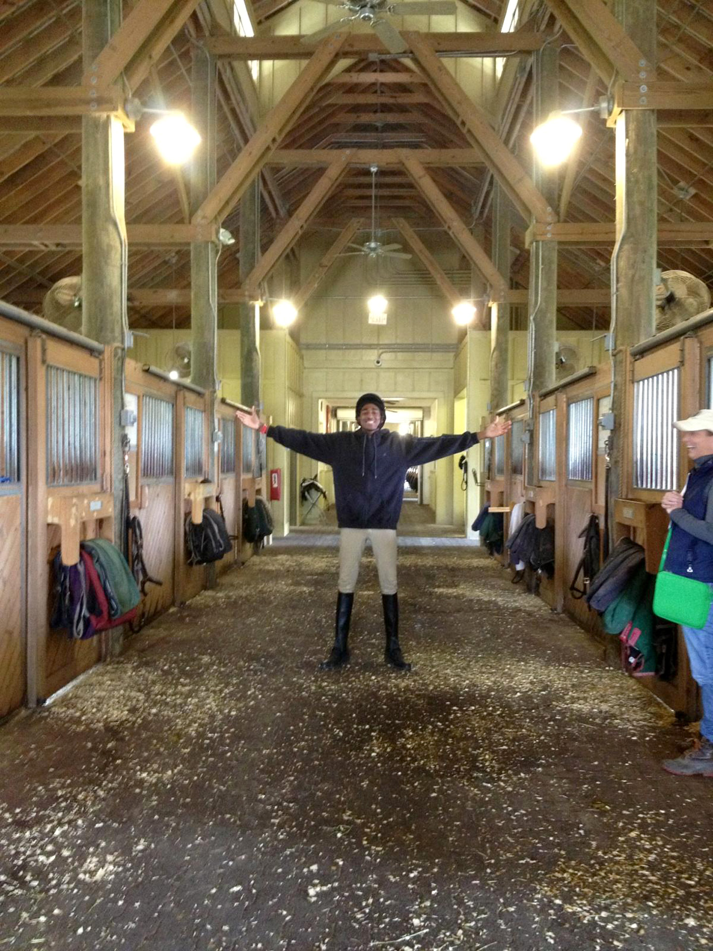 The First Day We Came Into The Barn He Was Like I M