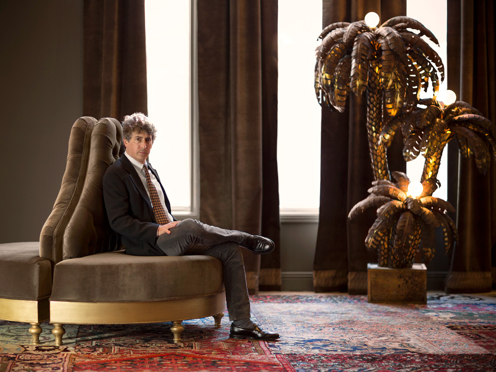 Portrait of Alexander Payne by photographer Adam Kuehl.