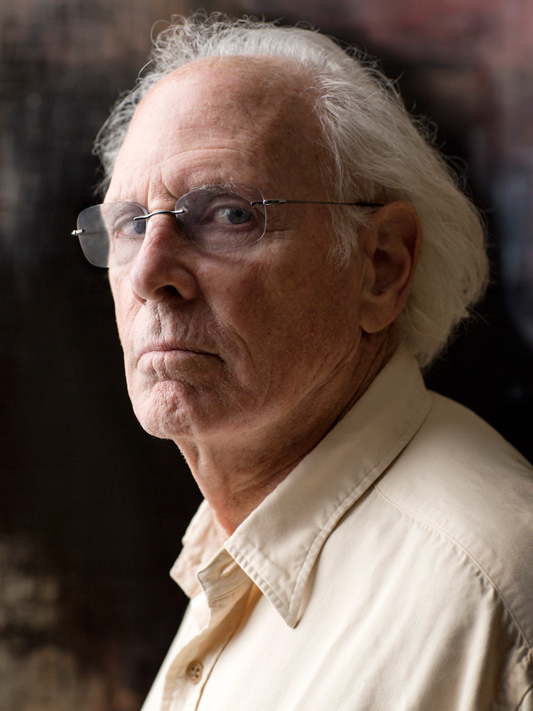 Portait of Bruce Dern by photographer Adam Kuehl.