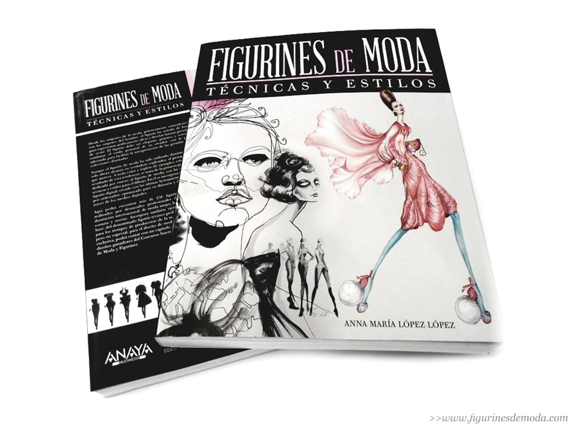 "Spanish fashion illustration book ""Figurines de Moda"" features Lara Wolf, Mengjie Di"