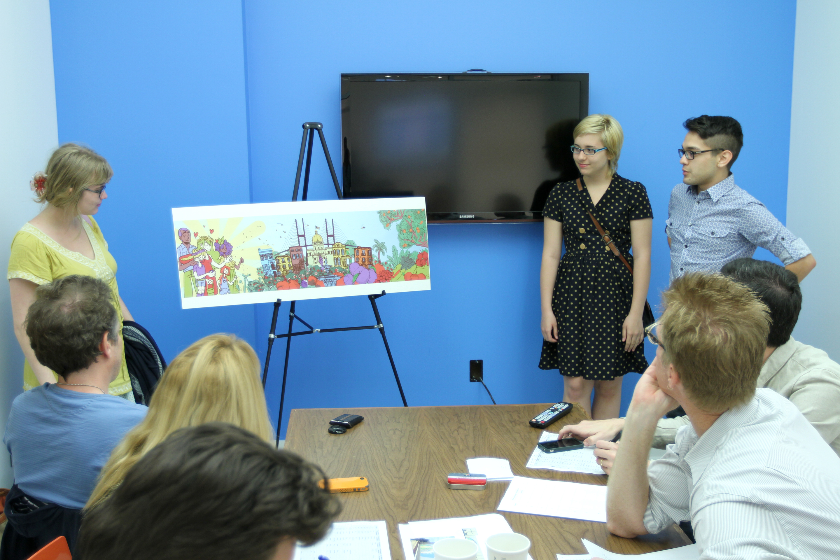 Whole foods mural challenge presentation