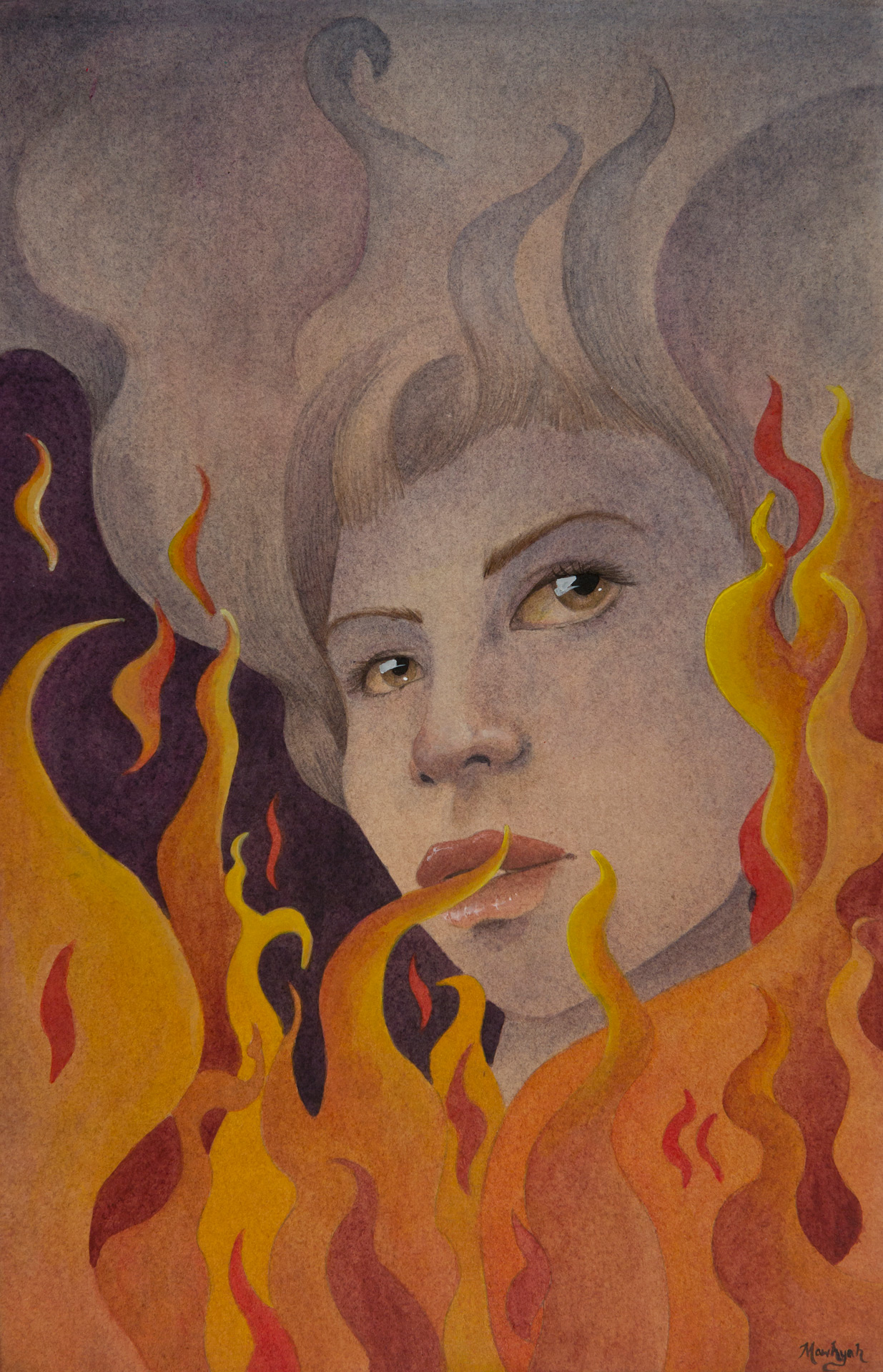 Girl on Fire, Mawhyah Milton, Scholarship Gala 2014