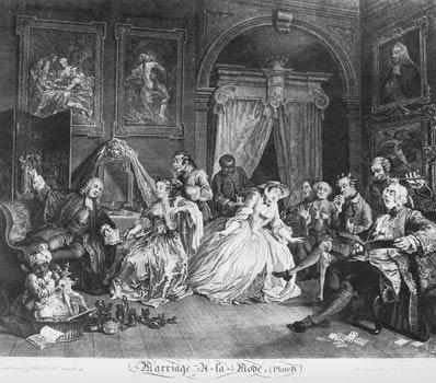 Quot Hogarth S Tale Of Two Cities Rich And Poor In 18th