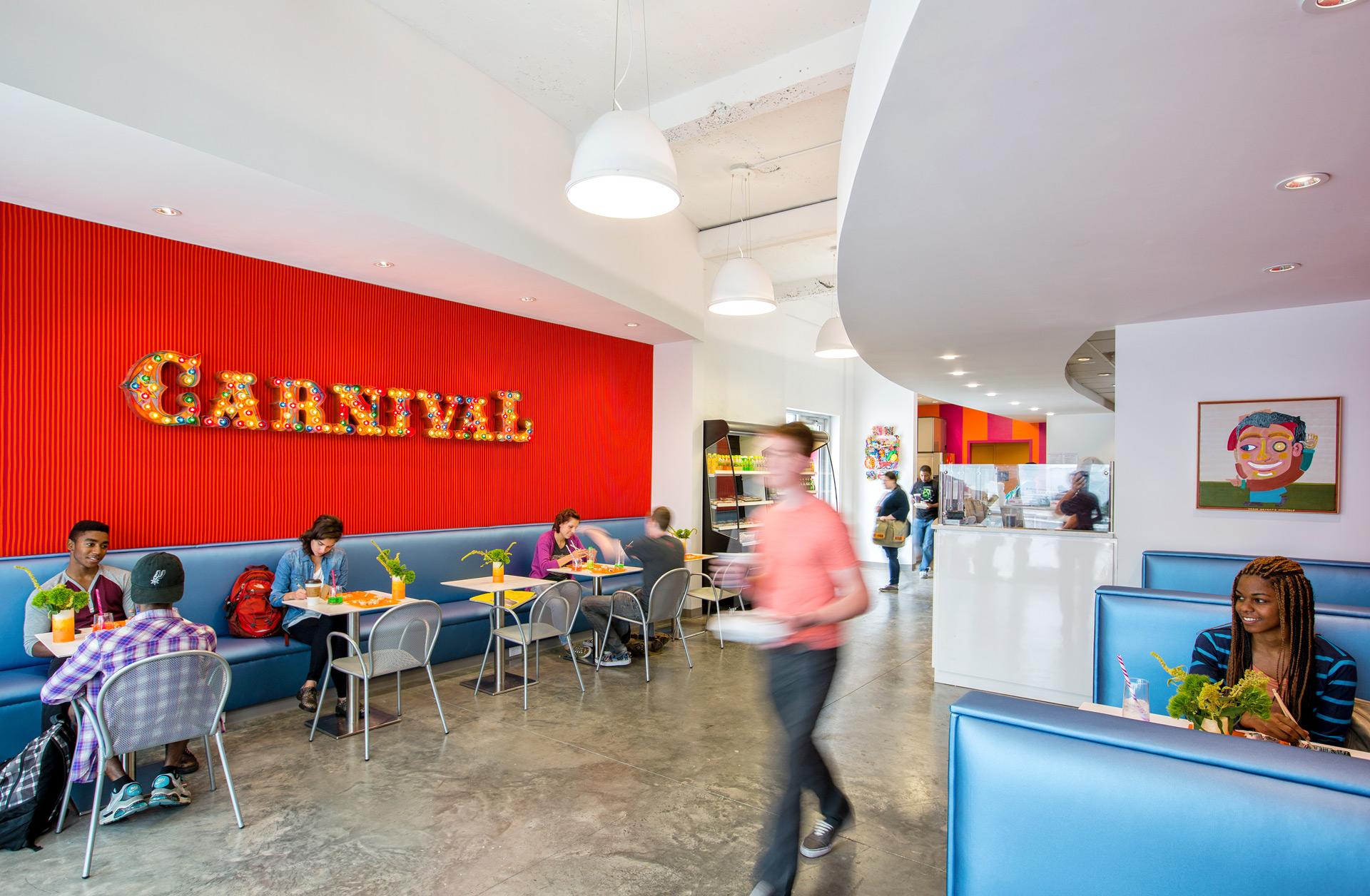 Carnival interior