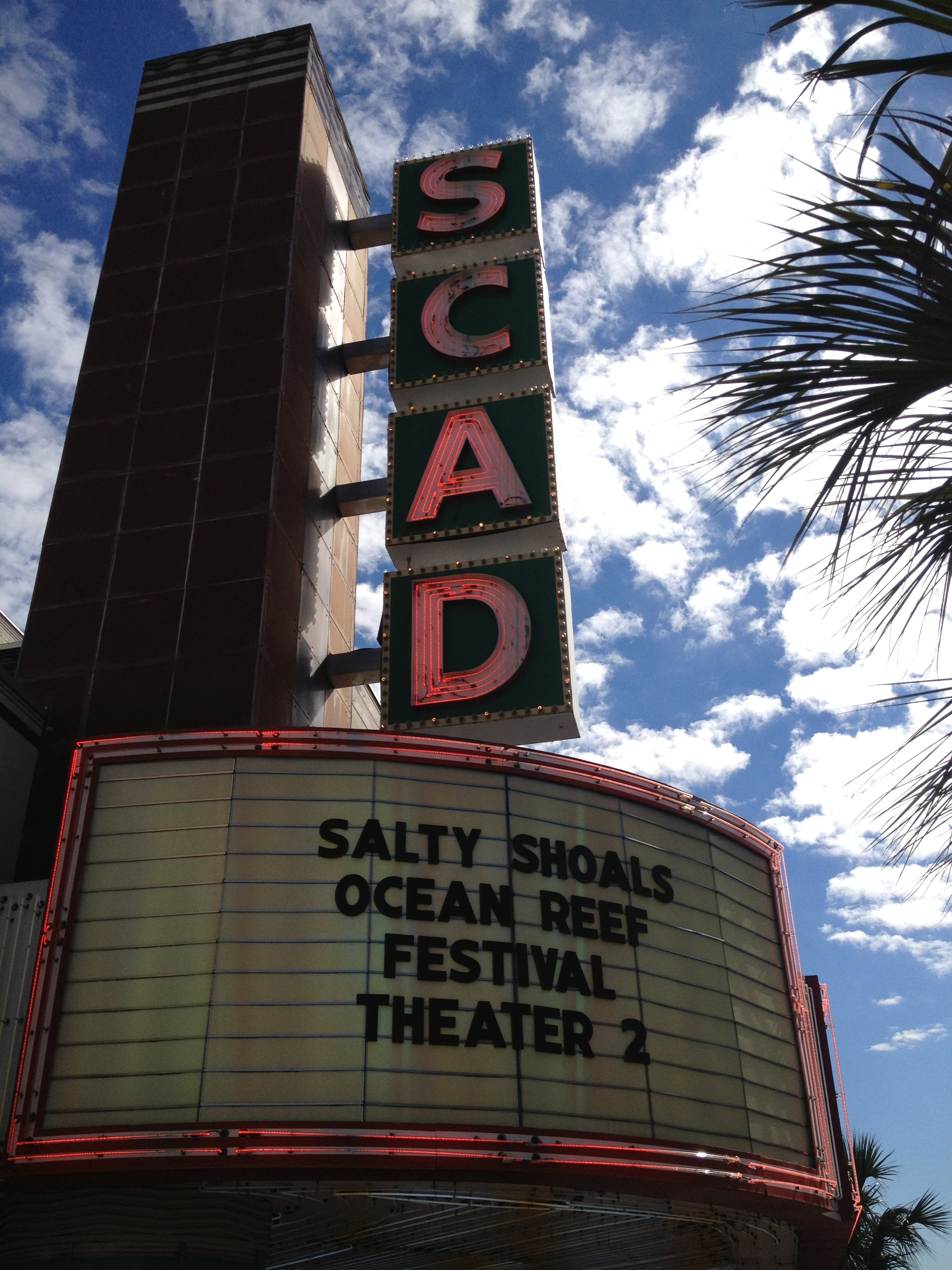 Trustees Theater was transformed to a local hangout in Salty Shoals