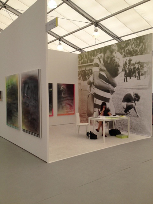 Wendy White with Anna Kustera Gallery at Untitled Miami Beach