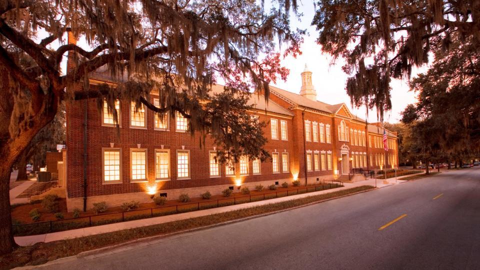 Arnold Hall, exterior, SCAD Savannah