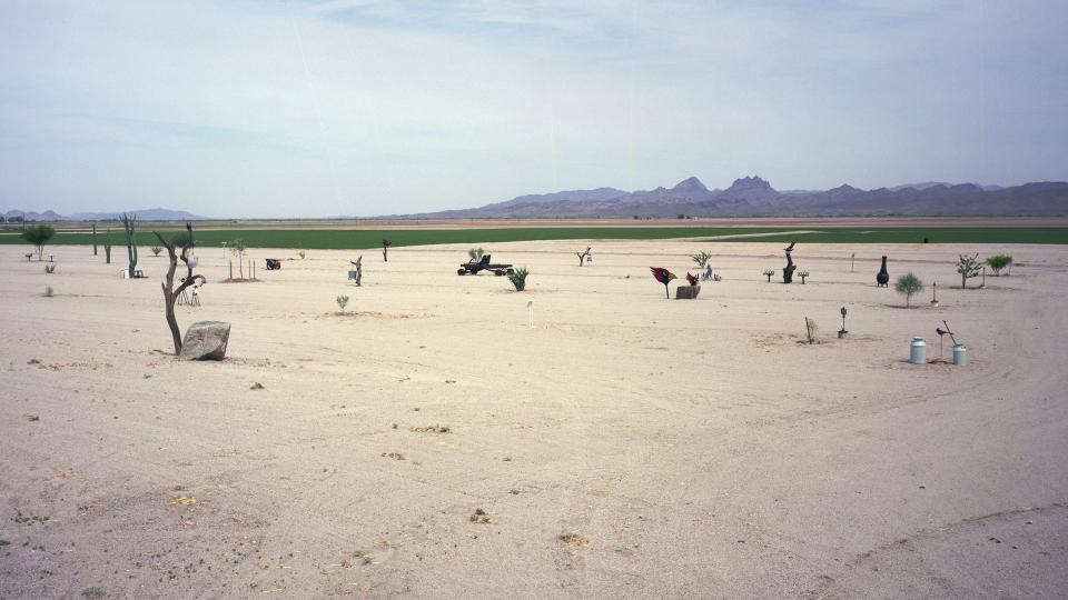 "Rebecca Nolan, ""Old US Highway 80, Yuma, AZ,"" 2013."