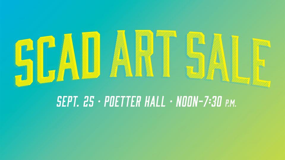 SCAD Art Sale 2014