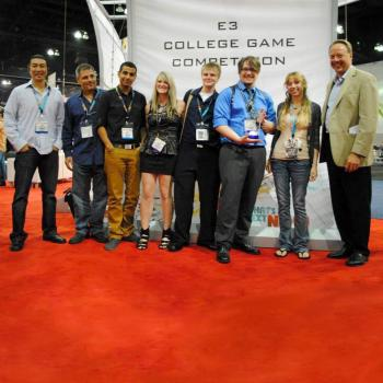 ESA inaugural college game development competition winners
