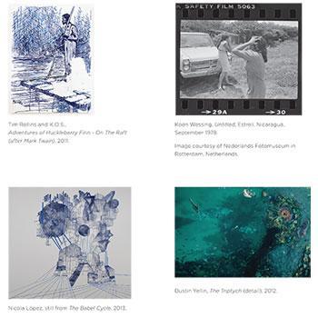 deFINE ART 2014, four works