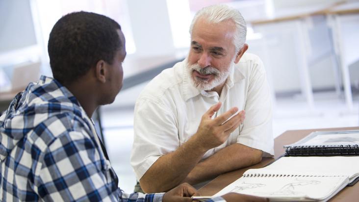 SCAD admission portfolio prep chat