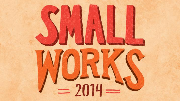 Call for entries for 'Small Works' exhibition, 2014