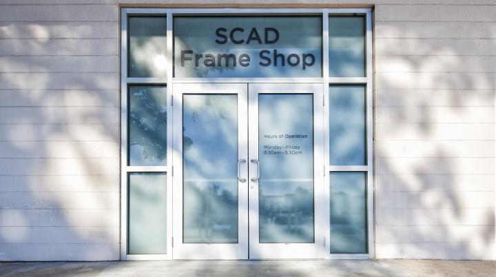 SCAD Frame Shop exterior