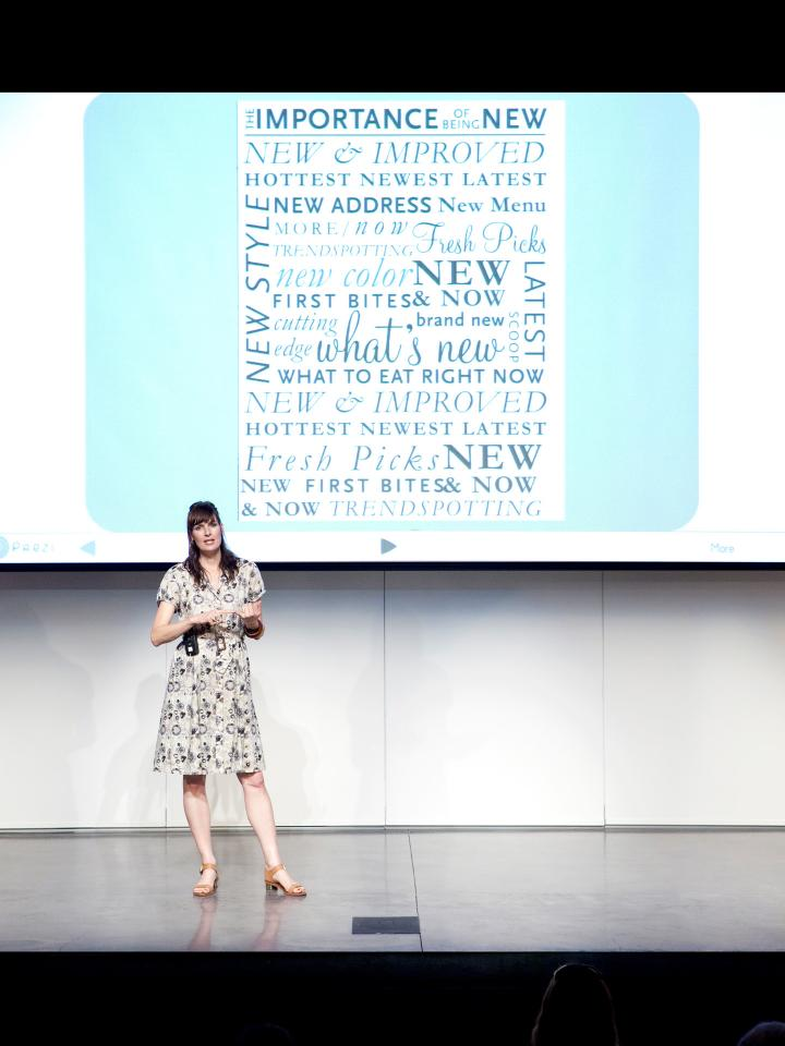 86716Amy Flurry lecture, SCAD Style 2012