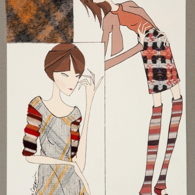 Candice Coppin, illustration, Print and Pattern 2