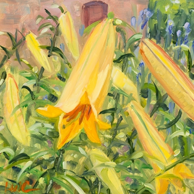 Italian Lily by Linda Constantino, painting
