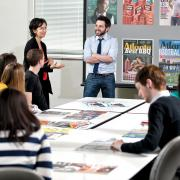 Graphic design, Atlanta Magazine class