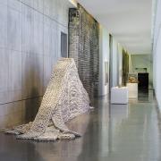 "Orly Genger, ""Undertone,"" SCAD Museum of Art, Pamela Elaine Poetter Gallery."