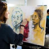 Portrait arts, painting