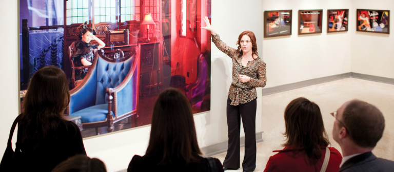Art history gallery talk