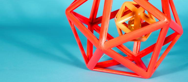 Foundation studies 3D student work
