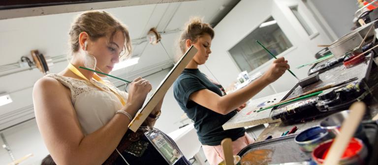 SCAD Summer Seminars painting workshop