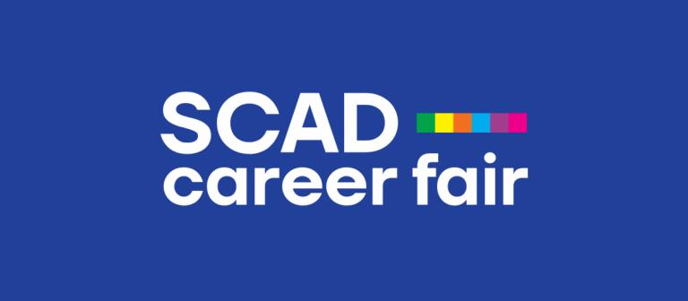 Career Fair branding dark blue