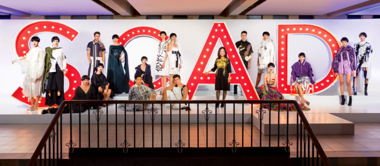 SCAD students participating in Hong Kong Fashion Showcase