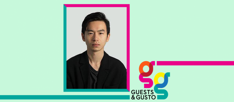 Guests and Gusto speaker Chris Yuan