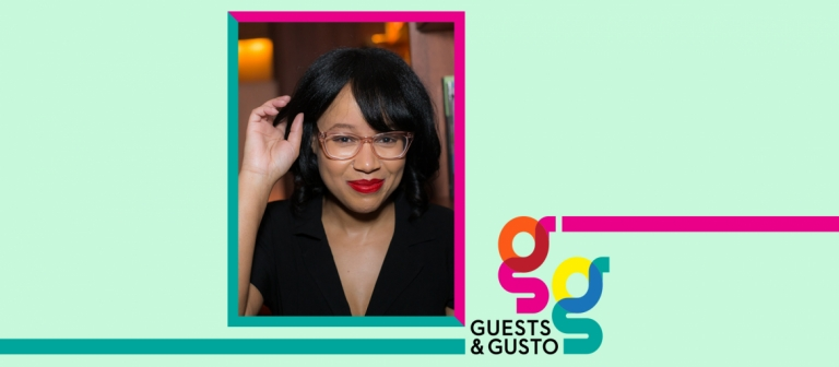 Guests and Gusto speaker Dhonielle Clayton