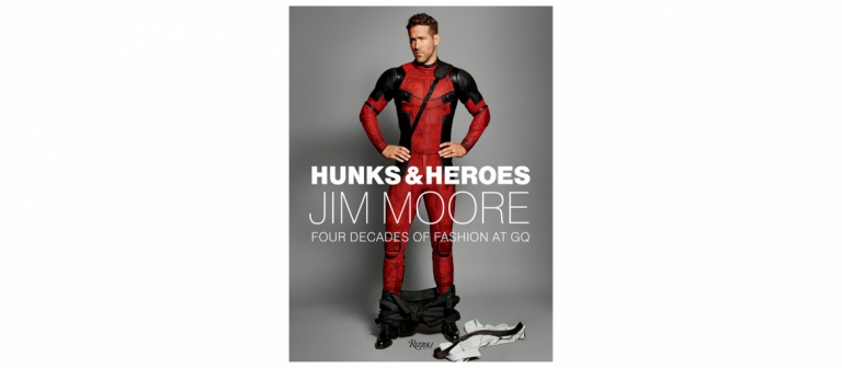 Hunks and Heroes Jim Moore GQ cover