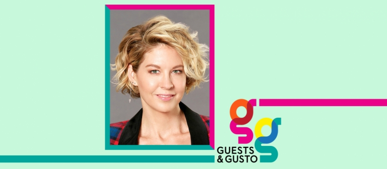 Guests and Gusto speaker Jenna Elfman