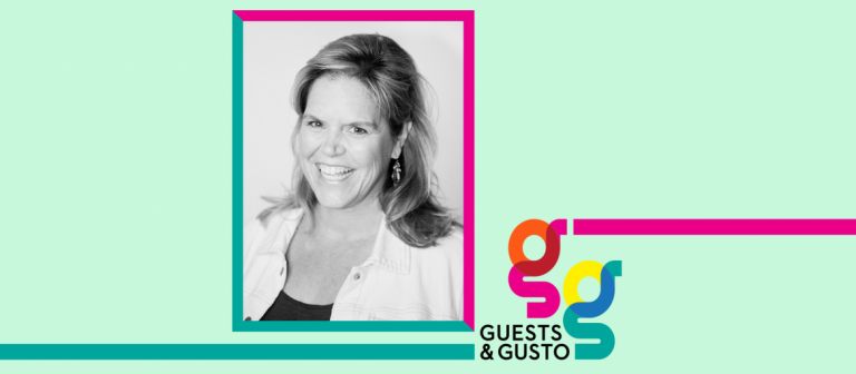 Guests and Gusto speaker Leigh Seaman