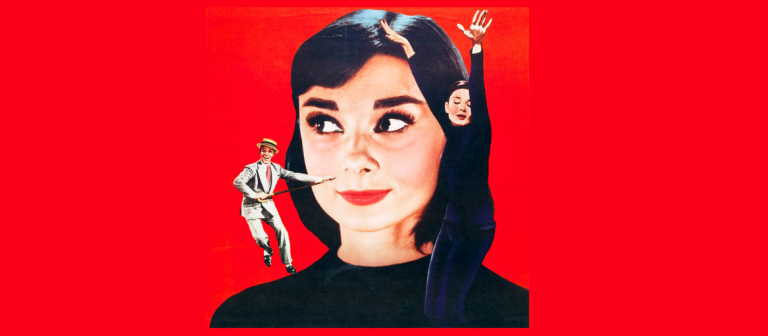 """Poster for """"Funny Face"""" screening at Lucas Theatre"""