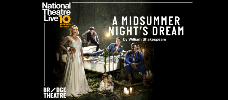 """Poster for """"A Midsummer Night's Dream"""" screening at Lucas Theatre"""